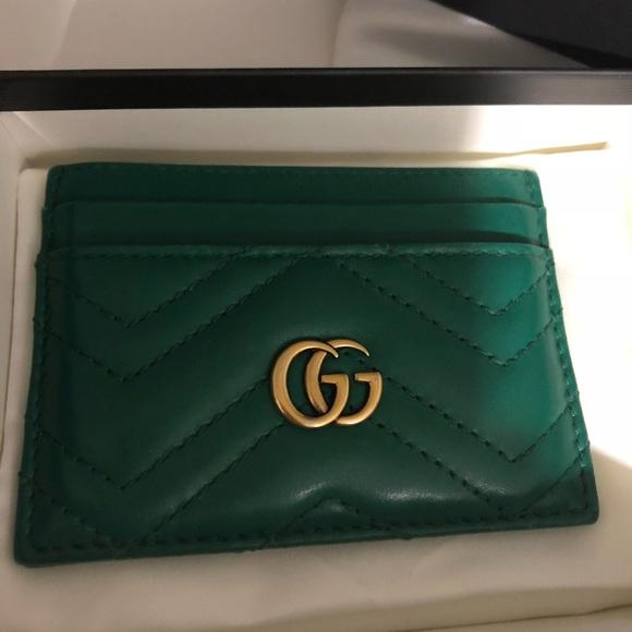 1aa537d99515dd Gucci Bags | Gg Marmont Card Case | Poshmark